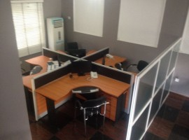 4 bedroom furnished office duplex in Lekki Phase 1.