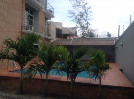 Serviced 4 bedroom Townhouse with a BQ fitted with air conditioners