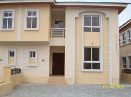 Brand New 4 Bedroom Duplex with a service quarters