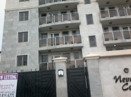 Brand New 3 Bedroom Flat with a Room BQ