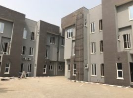 2 units of 4bedroom terrace with a room bq