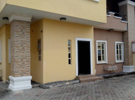 1 UNIT OF 4 BEDROOM SEMI DETACHED DUPLEX