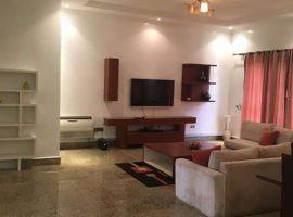 Serviced Fully Furnished 3 Bedroom Flat
