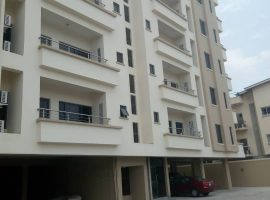Fully serviced block of 3 bedroom flats