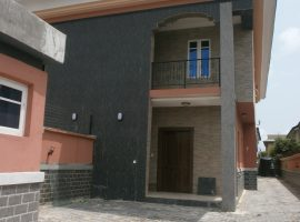 THREE (3) BEDROOM SEMI DETACHED DUPLEX