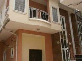 FOUR (4) BEDROOM SEMI-DETACHED DUPLEX
