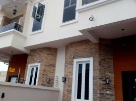 Brand New Four (4) Bedroom Semi Detached Duplex